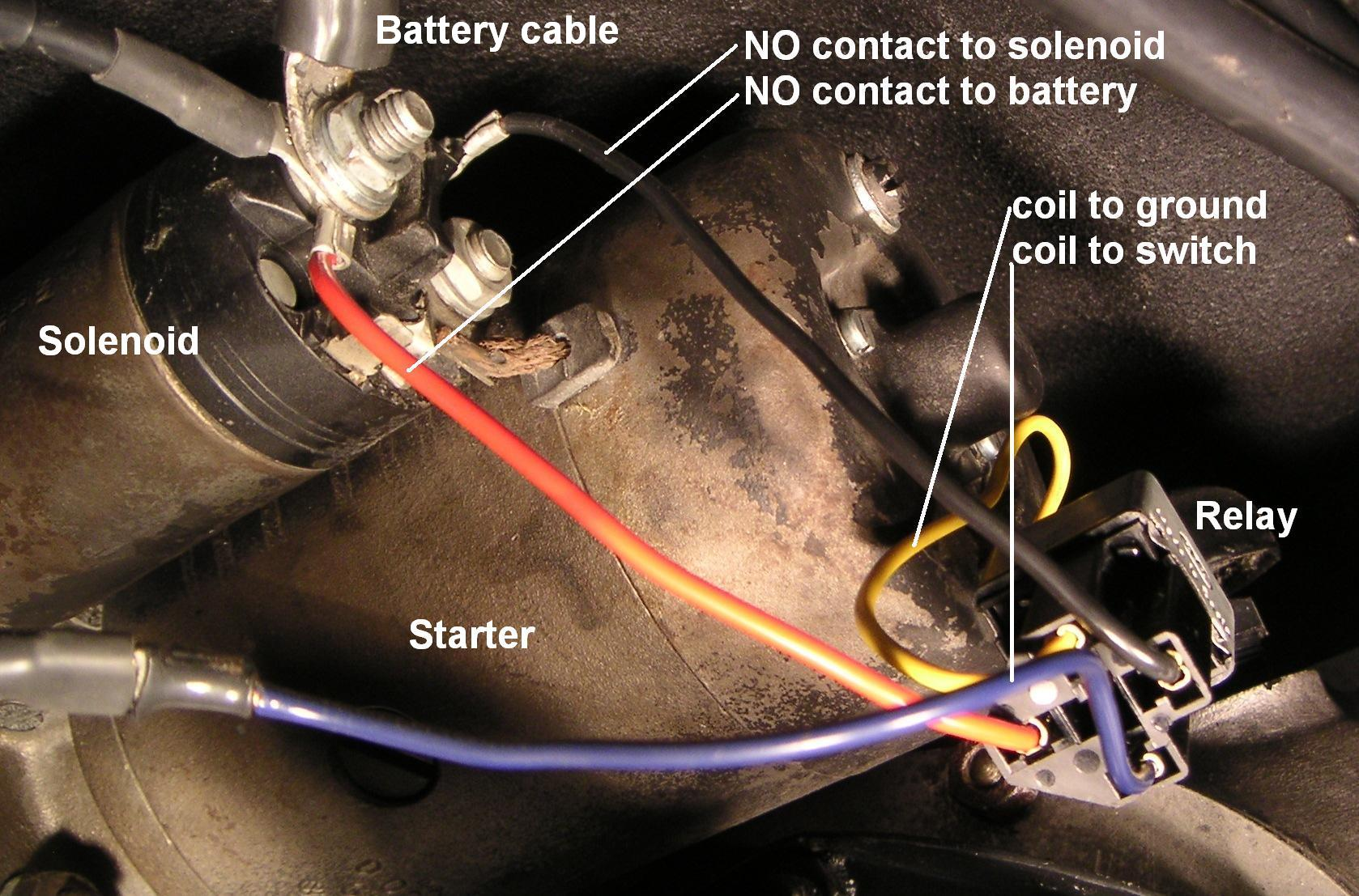 Technical Midwest 356 Club Case Starter Solenoid Wiring