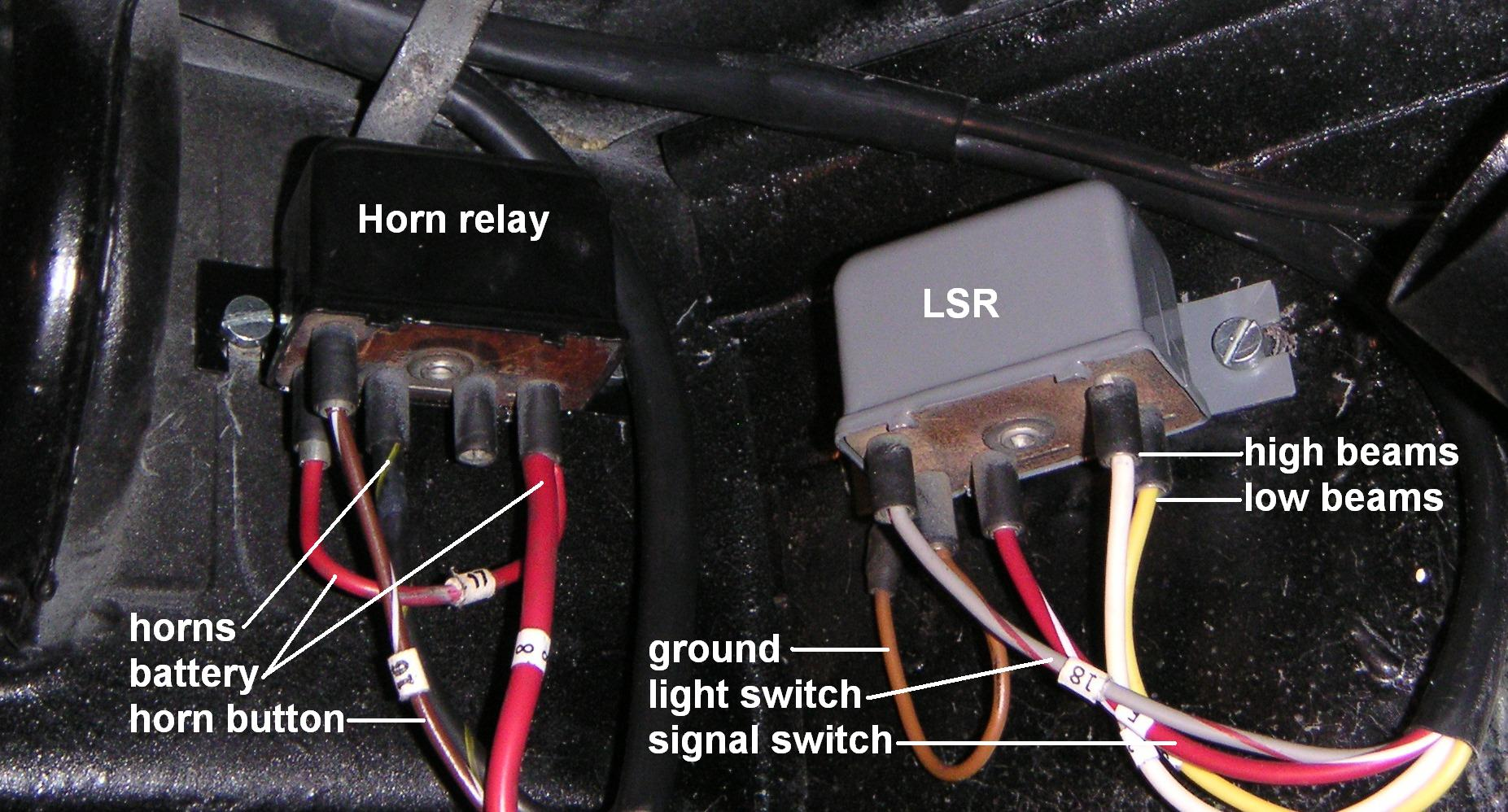 Technical Midwest 356 Club Kit Car Fuse Relay Box Which Is On The Right Hand End Of Bulkhead Behind Dashboard In T6 Cars Relays Are Located Trunk Directly Above Block